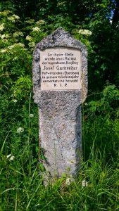 Gedenkstein Garnreiter
