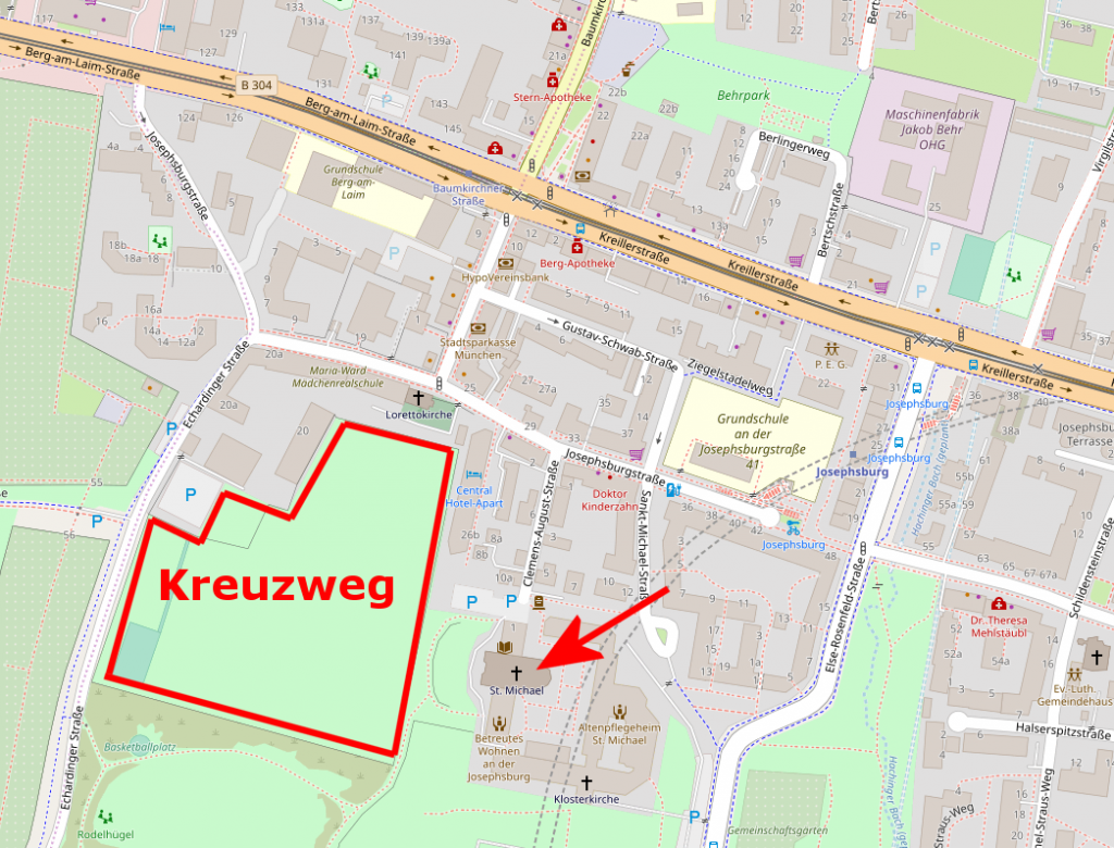 Map Kreuzweg (Berg am Laim)