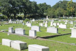 Stadtfriedhof von Natchez