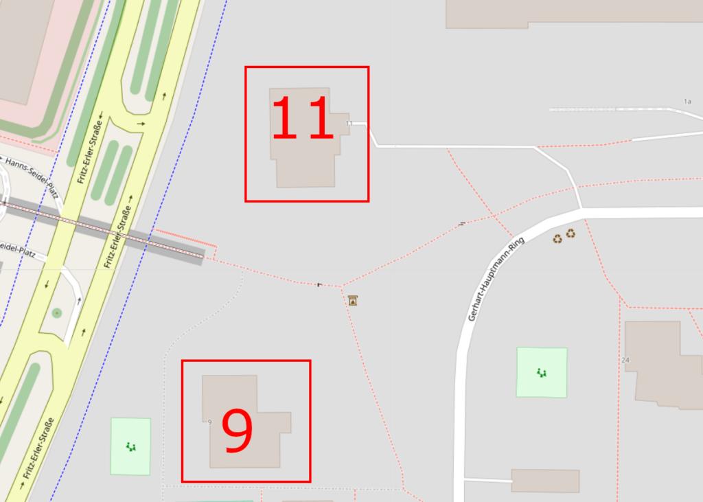 Map Neuperlach 911